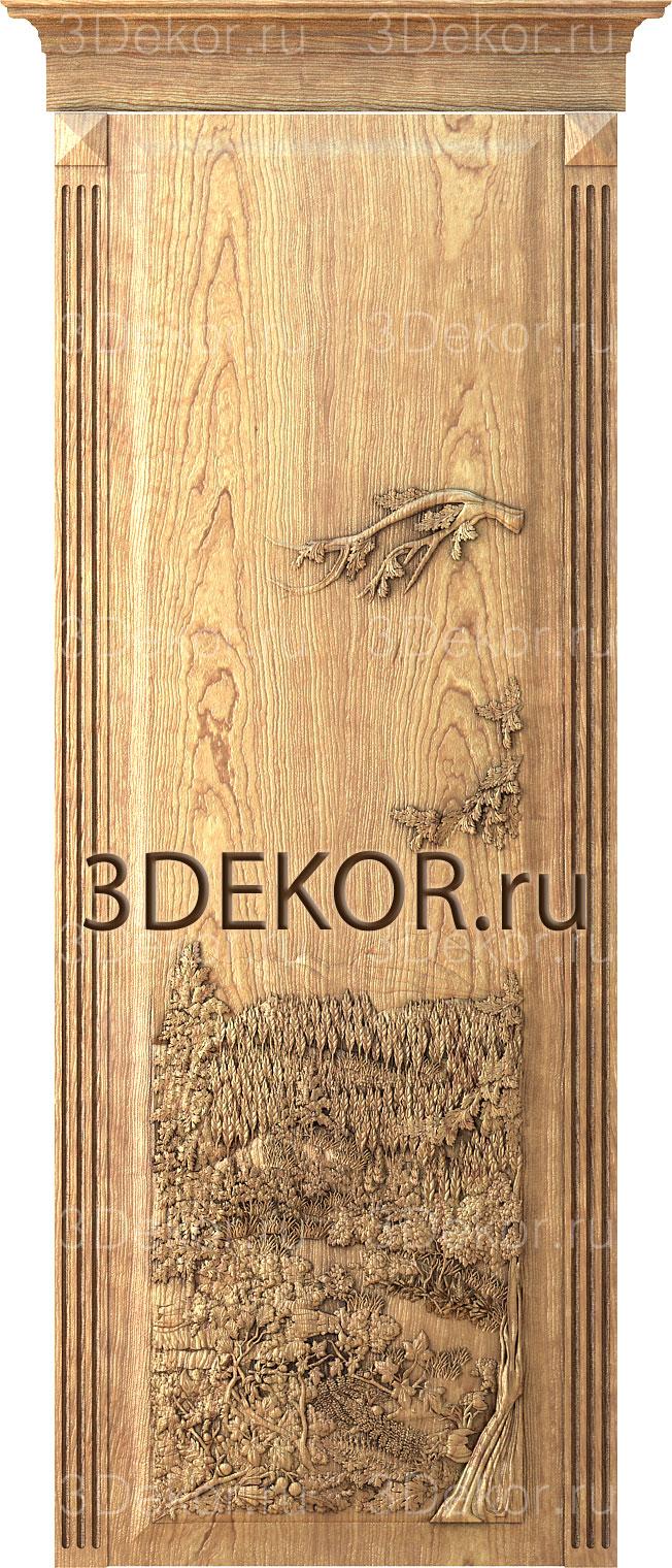 двери в японско мстиле 3декор