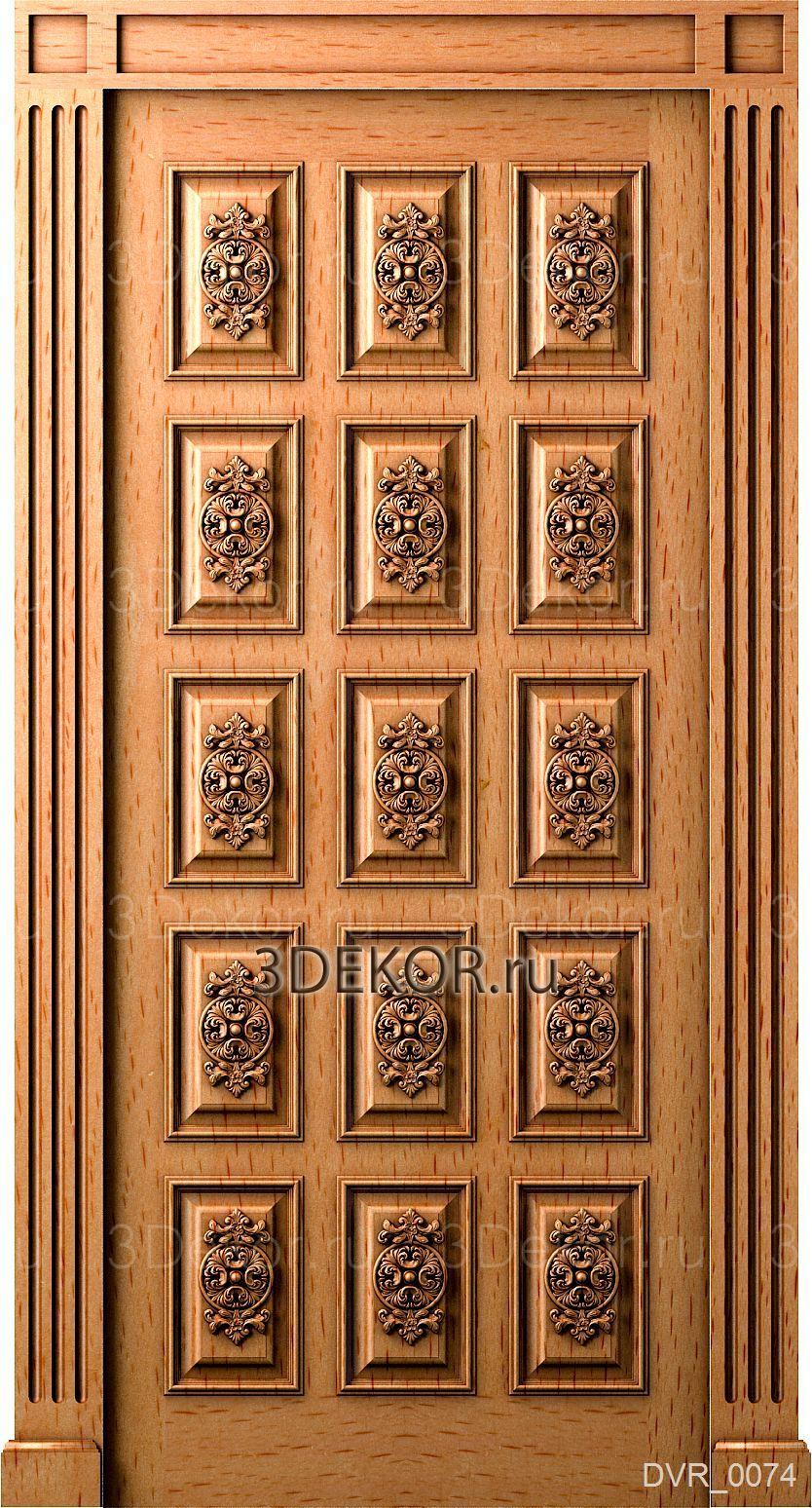 дверь из массива. каталог 3декор