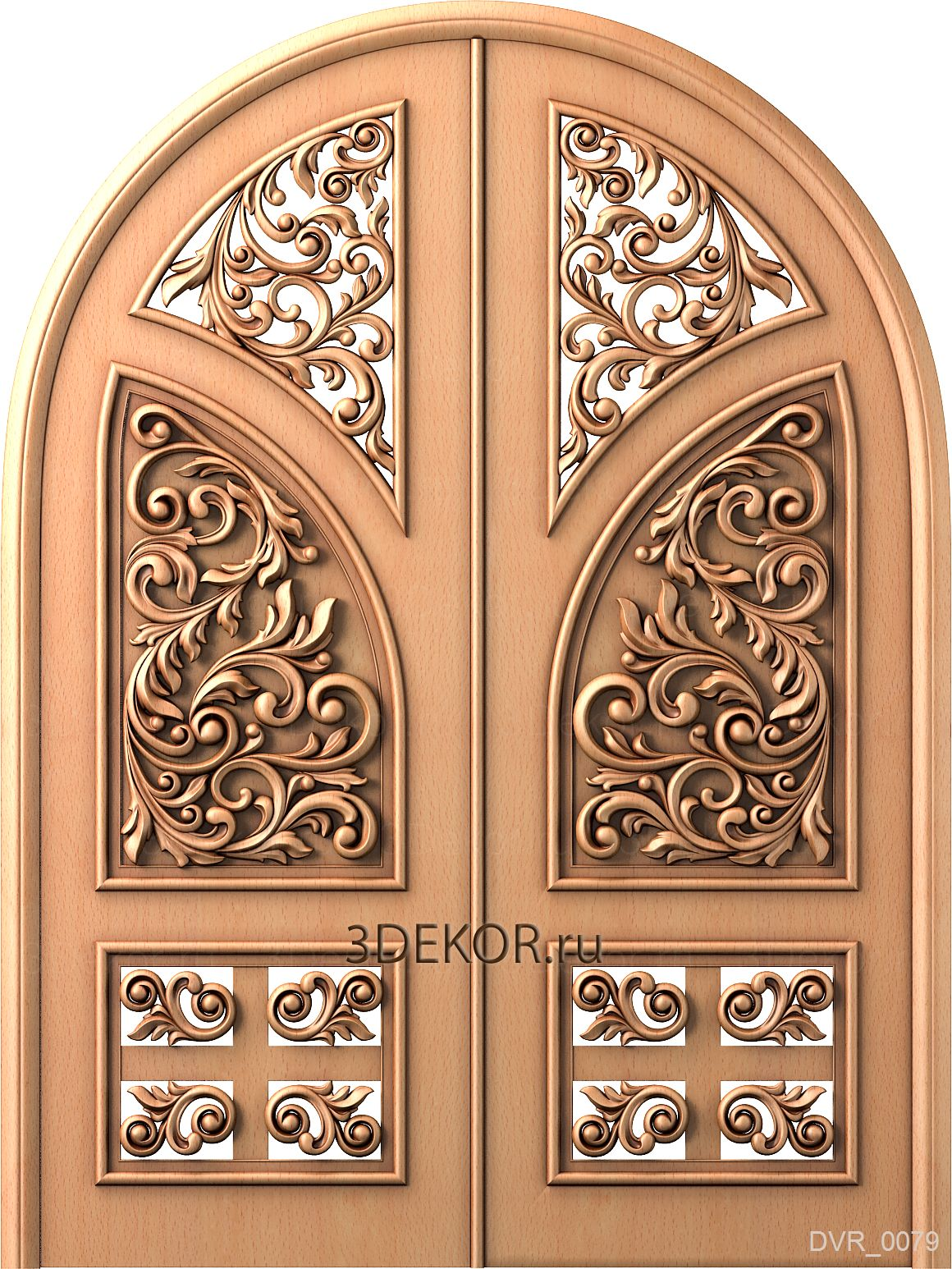 дверь в арабском стиле