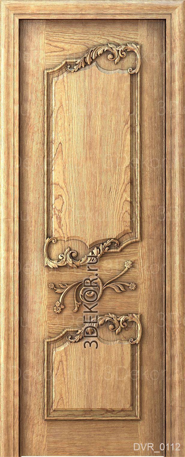 вариант двери в стиле прованс