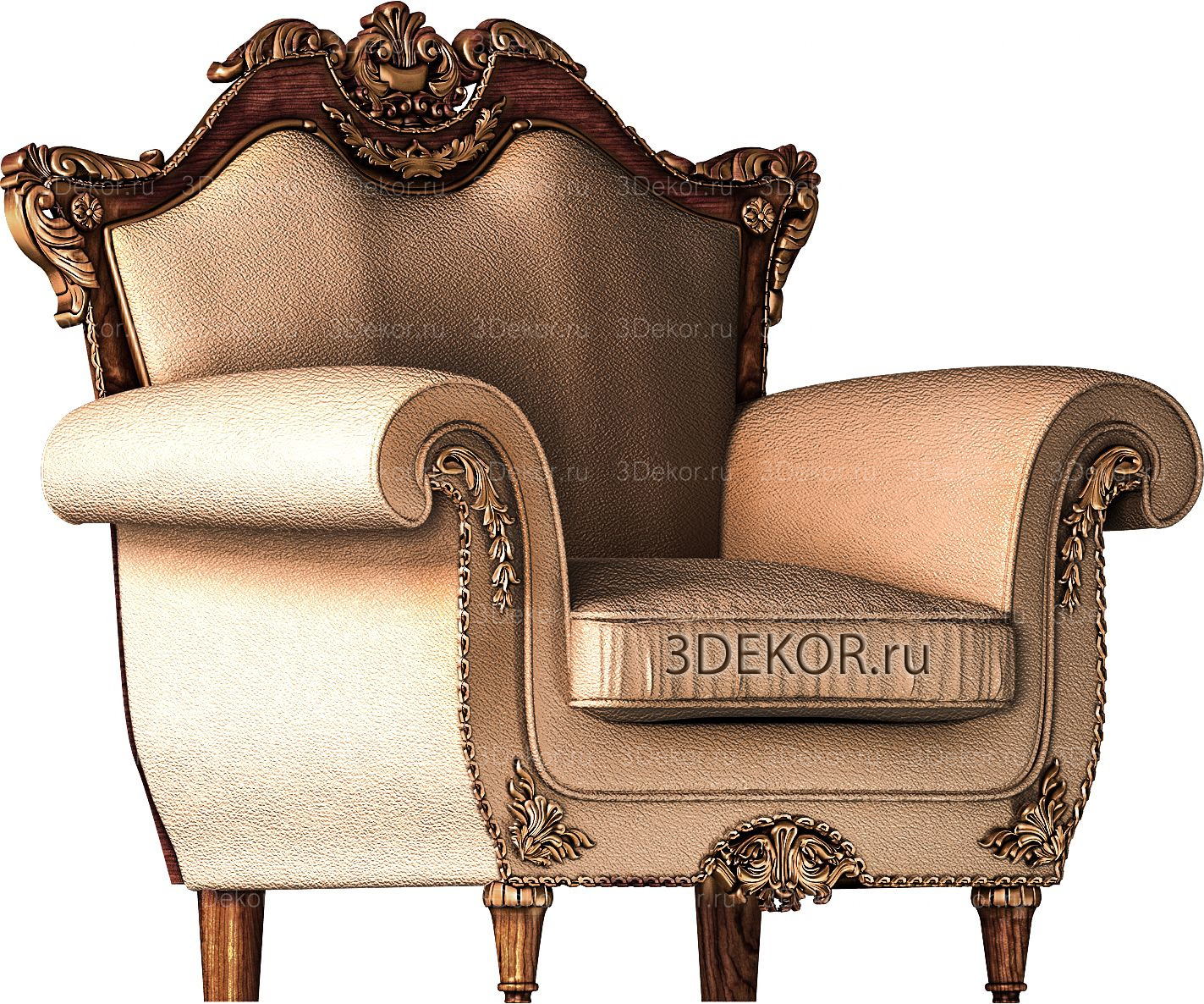 3д модель будущего изделия: 2-й этап изготовления мебели