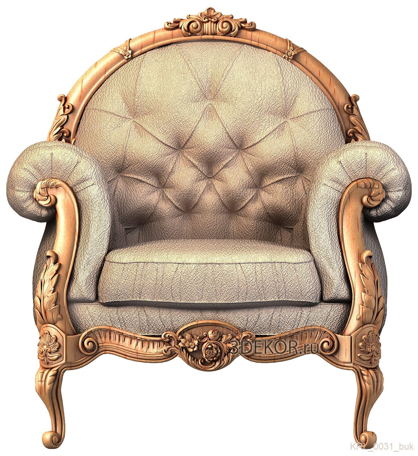 кресло в стиле ампир из каталога 3декор