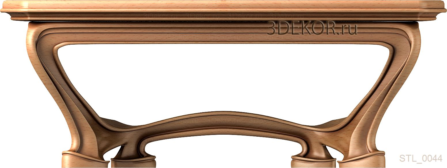 стол из дерева - пример из каталога 3декор